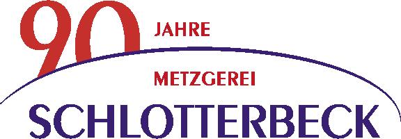 Logo 90 Jahre Metzgerei Schlotterbeck